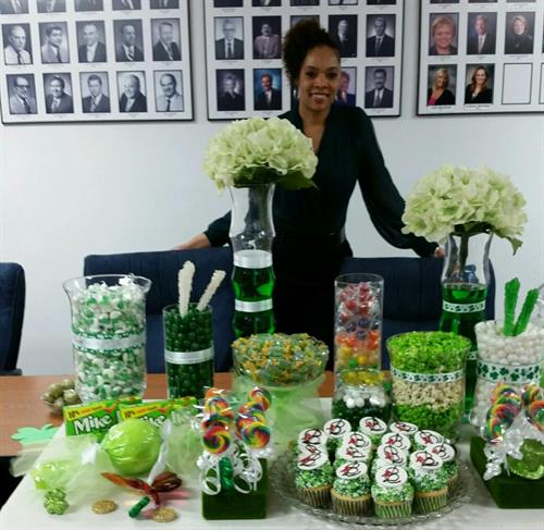 St. Patricks Day Themed Candy/ Dessert Bar