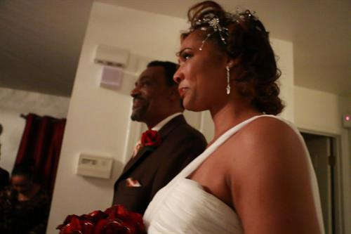 Father Escorting Bride