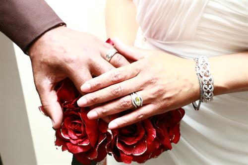 Hand Photo w/Rings