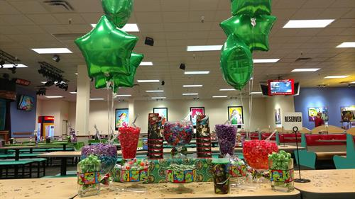 Teenage Mutant Ninja Turtles Popcorn & Candy Buffet Table