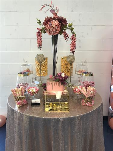 It's All Rose Gold Bridal Shower At South City YMCA