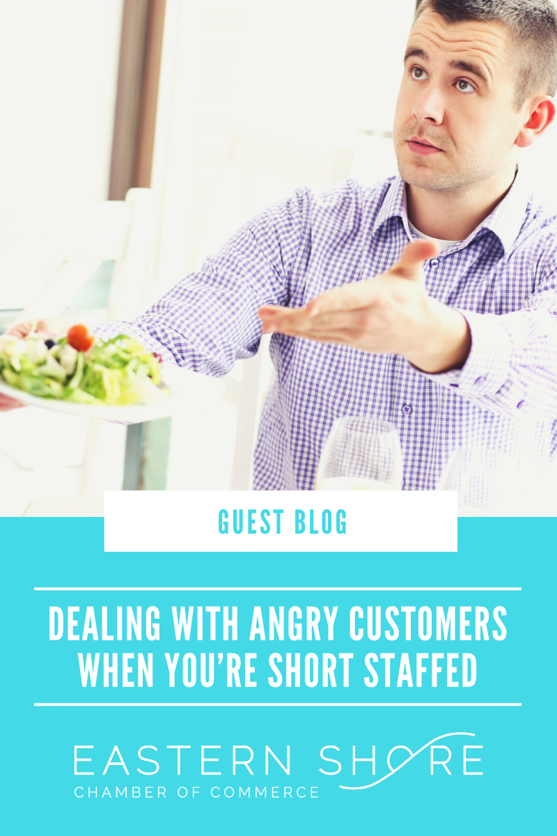 Image for Dealing with Angry Customers When You're Short Staffed