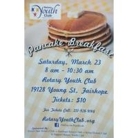 Rotary Youth Club Pancake Breakfast