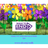 2019 Walk to End Alzheimer's - Mobile Bay Area