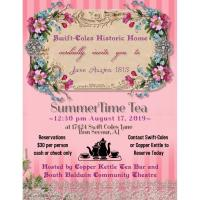 Jane Austen 1813 SummerTime Tea