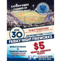 Mobile Baybears Eastern Shore Chamber of Commerce Night