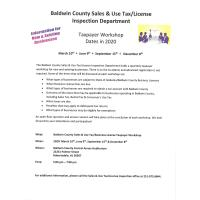 Baldwin County Taxpayer Workshop
