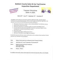 Baldwin County Taxpayer Workshop