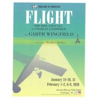 "Theatre 98 presents ""Flight - The Rise and Fall of Charles Lindbergh"""