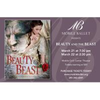 "CANCELED - Mobile Ballet presents ""Beauty and the Beast"""