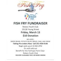 Rotary Youth Club Fish Fry