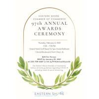 POSTPONED - Eastern Shore Chamber Annual Awards Ceremony