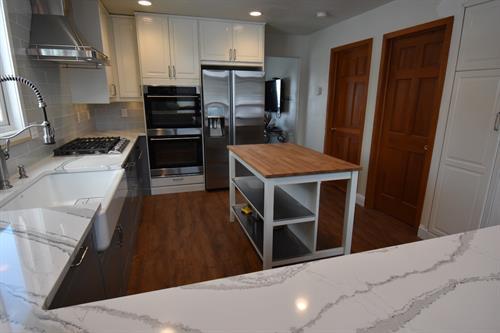 Kitchen remodel with Cambria Quartz