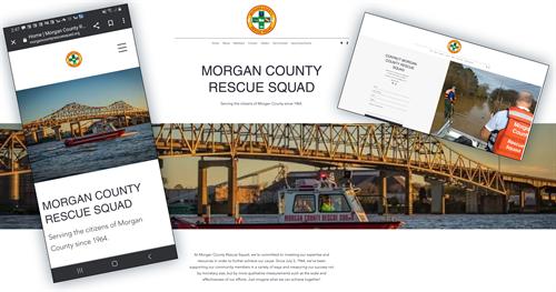 Morgan County Rescue Squad home page