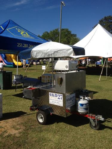 Rent our Hot Dog Cart