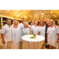 """Eastern Shore Art Center's 3rd Annual """"White Linen Night"""" Features A Night With Ol' Blue Eyes at the Starlight Lounge"""