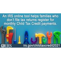 IRS Unveils Online Tool to Help Low-Income Families Register for Monthly Child Tax Credit Payment