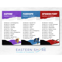2021 High School Football Schedule FREE Graphics