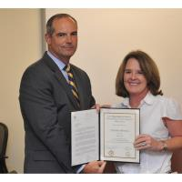 Chamber's Christina Hellmich Graduates from FBI Citizens Leadership Academy