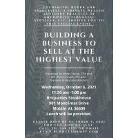 Transworld Business Advisors Educational Seminar is October 6th
