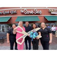 The Scrub Shop Ribbon Cutting