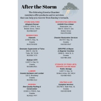 After the Storm - Help is Available from Chamber Members