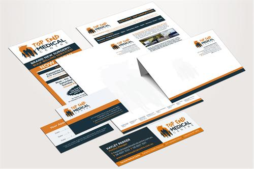 Letterhead and envelopes from one color to full color in all sizes.