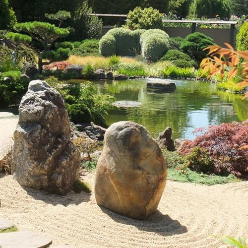 Our authentic Kyoto-style Meditation Garden is ranked among the top Japanese gardens in North America