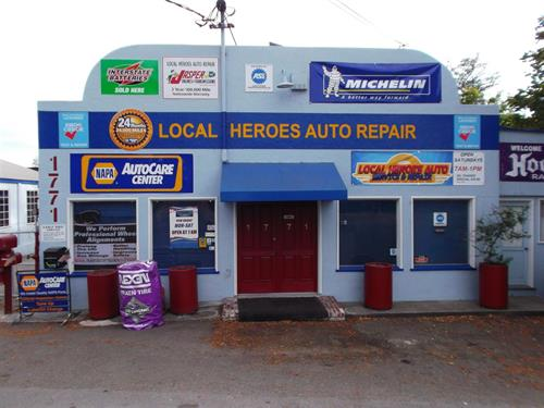 Local Heroes Auto Repair Bodega AVE