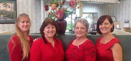 FHB Pinellas Park Staff - Christine, Rose, Cindy and Morgan