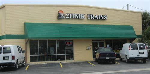 Zitnik Trains Storefront