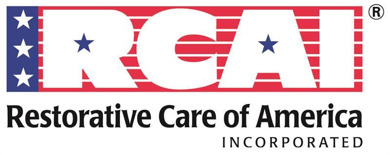 RCAI  (RESTORATIVE CARE OF AMERICA)