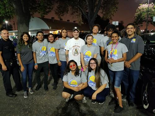 Volunteers from Satuday Night Lights program - Summer 2018