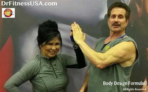 Dr Fitness USA with Sonia Ete