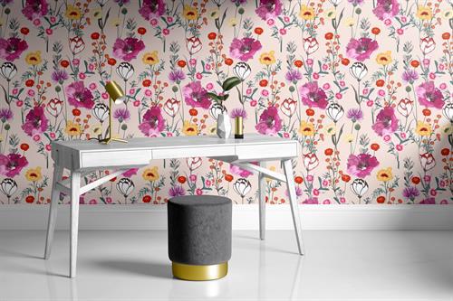 Spring Bloom Pink Wallpaper