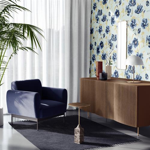 Hibiscus Blue Wallpaper