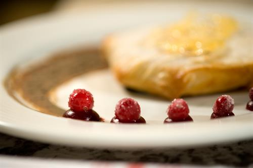 Creme Brulee in Phyllo