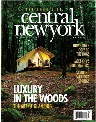 The Good Life, Central New York Magazine connects advertisers and affluent Central New Yorkers with engaging content and evocative ads that focus on people, food, fashion, culture and home.  Your sales message will appear in a publication that's delivered to 18,500 households with incomes over $125,000 in Onondaga County plus Cazenovia in Madison County.  A limited number of additional copies are also available at select retail locations.