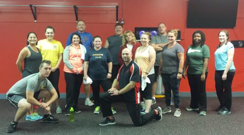First Group Class at Journey Fitness Ithaca