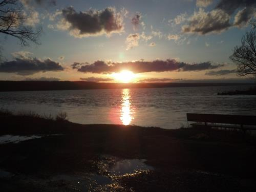 Cayuga Lake Sunset