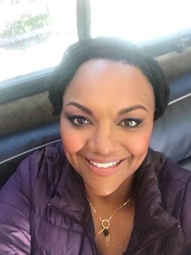 Michelle Courtney Berry, on set of national TV commercial Apr 2018
