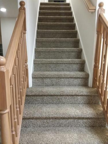 custom staircase carpet