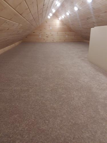 playhouse loft carpet installation