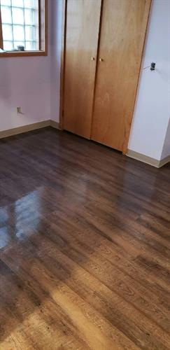 glue down lvt gets increased wear ability with surface vinyl finish