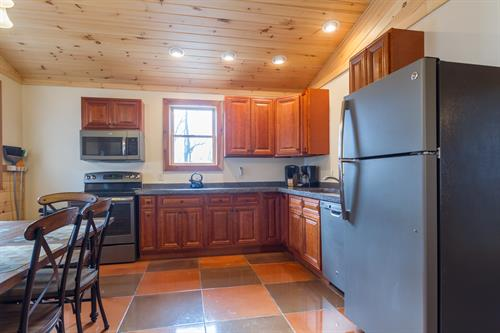 Kitchen and Dining Area in Cabin A