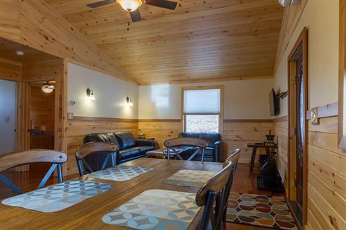 Open Floor Plan Living Area
