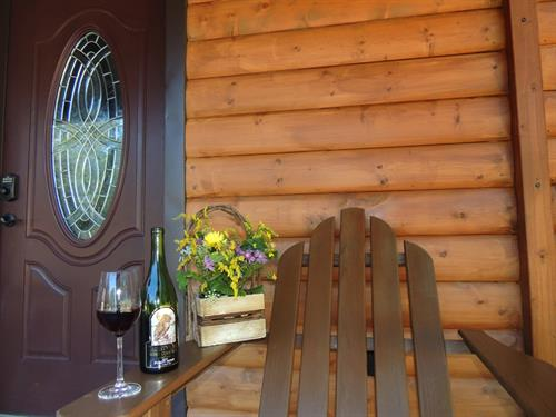 Picture yourself seated here sipping a fine Finger Lakes Wine!