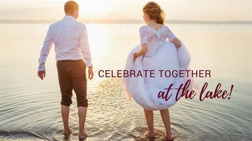 Retreat to your lakeside cottage after you say i do!