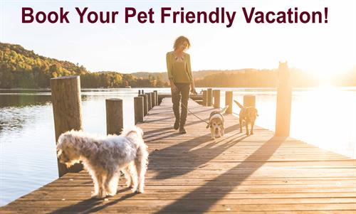 Pet Friendly Homes Available!