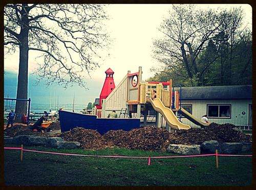 Playground at Ithaca Yacht Club
